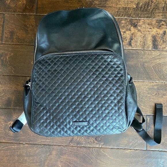 Vera Bradley Carry All Large Backpack Black